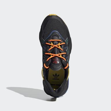 Men Originals Black Angel Chen OZWEEGO Shoes