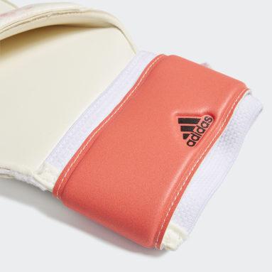 Soccer White Predator 20 MTC Fingersave Gloves