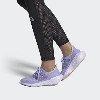 Ženy Beh fialová Tenisky Ultraboost 21