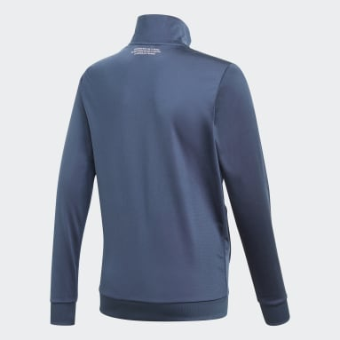 синий Олимпийка Adicolor
