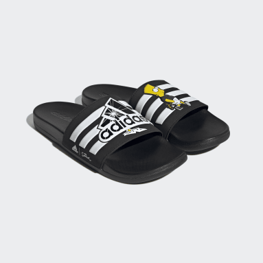 Chancla Adilette The Simpsons Comfort Negro Sportswear