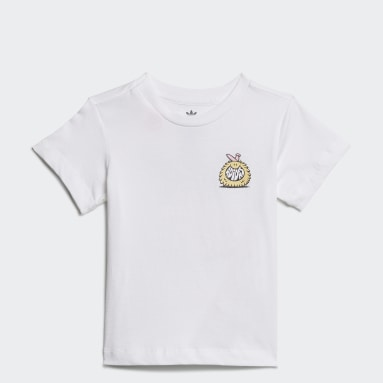 T-shirt adidas Originals x Kevin Lyons Blanc Enfants Originals