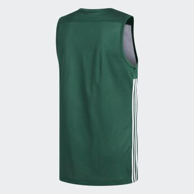 Mænd Basketball Grøn 3G Speed Reversible trøje