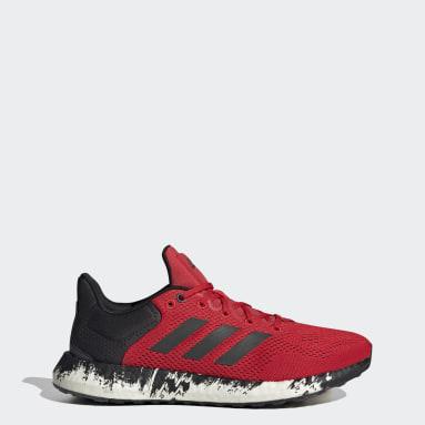 Men Running Red Pureboost 21 Shoes