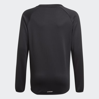 Sudadera adidas Designed To Move Big Logo Negro Niño Gimnasio Y Entrenamiento
