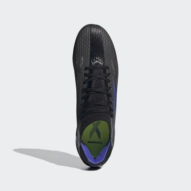 Calzado de Fútbol X Speedflow.3 Terreno Firme Negro Fútbol
