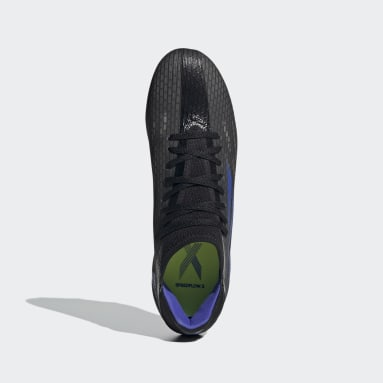 Football Black X Speedflow.3 Firm Ground Boots