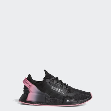 Youth Originals Black NMD_R1 V2 Dame Shoes