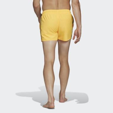 Short da nuoto Classic 3-Stripes Rosso Uomo Nuoto