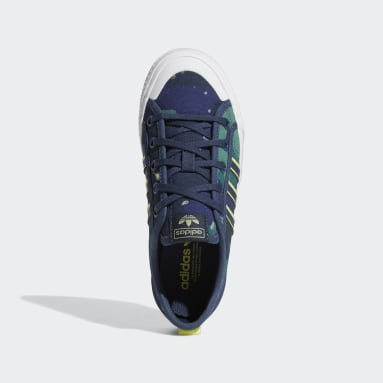 Youth 8-16 Years Originals Blue Nizza Shoes