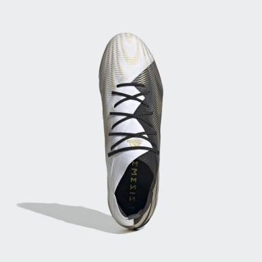 Calzado de Fútbol Nemeziz .1 Terreno Firme Blanco Hombre Fútbol