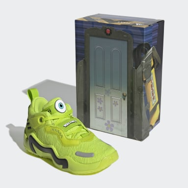 Children Basketball Green Donovan Mitchell D.O.N. Issue #3 Mike Wazowski Monsters, Inc. Shoes