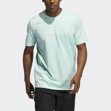 Men Basketball Turquoise FTC Graphic Tee