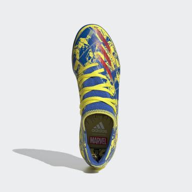 Calzado de fútbol Marvel X Ghosted.3 Pasto Sintético Azul Hombre Fútbol