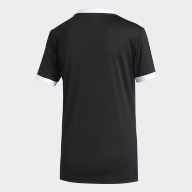 Camiseta Tiro Negro Mujer Fútbol