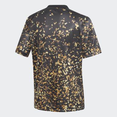 Camiseta Real Madrid EA Negro Niño Fútbol