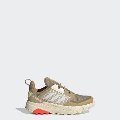 Kids TERREX Beige Terrex Trailmaker RAIN.RDY Hiking Shoes