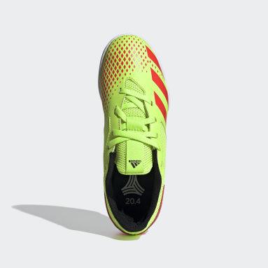 Chuteira Predator 20.4 Futsal Verde Kids Futebol