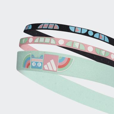 Girls Gym & Träning Multi adidas x LEGO® DOTS™ Headbands 3 Pack