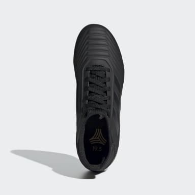 Girls Football Black Predator Tango 19.3 Turf Boots