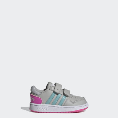 Hoops 2.0 Shoes Szary