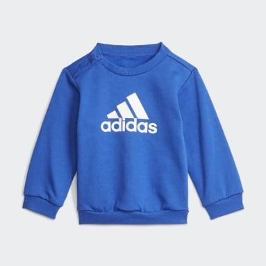 Děti Cvičení A Trénink modrá Souprava Badge of Sport Jogger