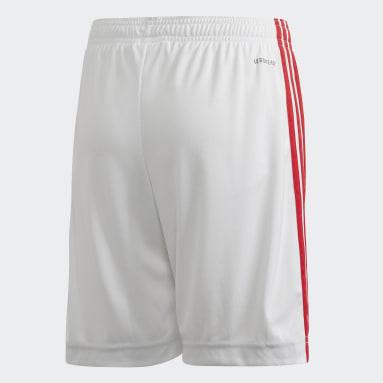 Pantalón corto primera equipación Rusia Blanco Niño Fútbol