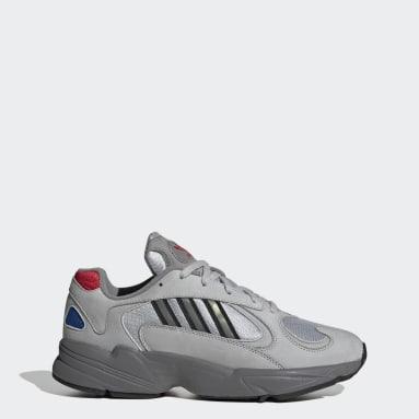 Zapatillas Yung-1 Plateado Hombre Originals