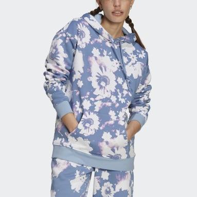 Sweat-shirt à capuche multicolore Femmes Originals