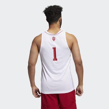 Men's Basketball White Hoosiers NCAA Swingman Jersey