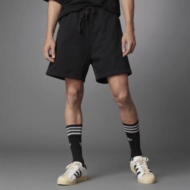 Men Originals Black Blue Version Essentials Shorts