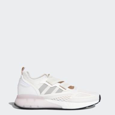 Women Originals White ZX 2K Boost Lite Shoes