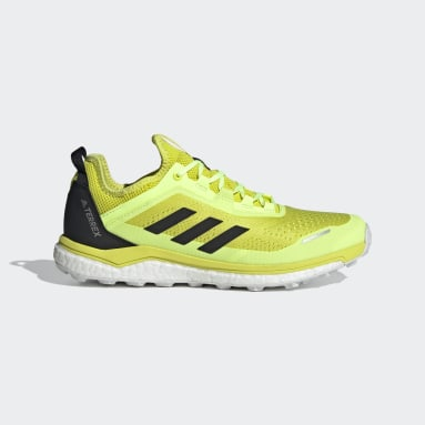 Men TERREX Yellow Terrex Agravic Flow Shoes