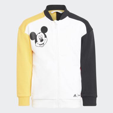 Tuta Disney Mickey Mouse Bianco Bambini Fitness & Training