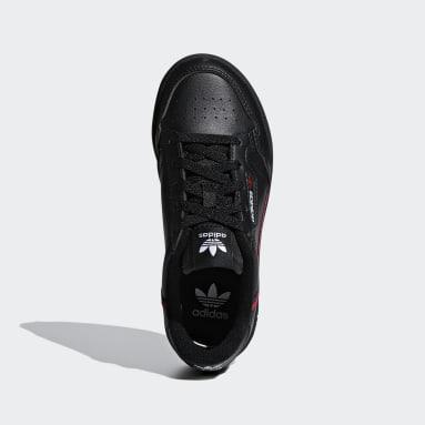 Zapatillas Continental 80 (UNISEX) Negro Niño Originals