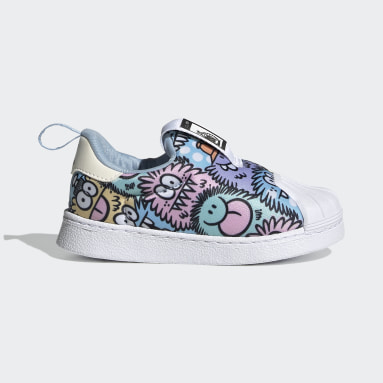 Børn Originals Blå adidas x Kevin Lyons Superstar 360 sko