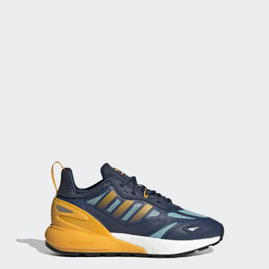 Youth Originals Blue ZX 2K Boost 2.0 Shoes