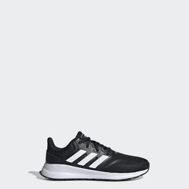 Kids Running Black Runfalcon Shoes
