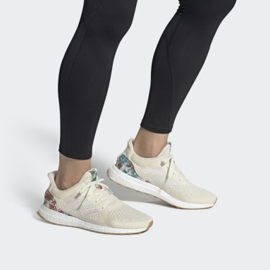 Chaussure Ultraboost Uncaged LAB Blanc Hommes Running