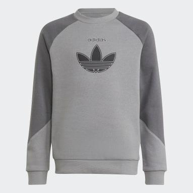 Sweat-shirt adidas SPRT Gris Enfants Originals