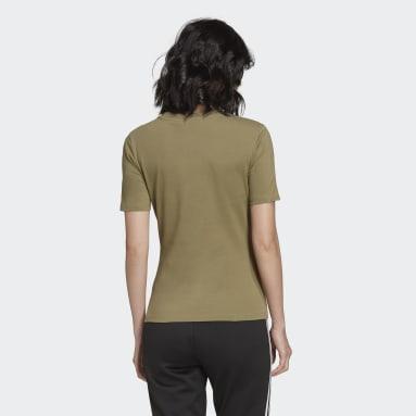 Tight T-skjorte Grønn