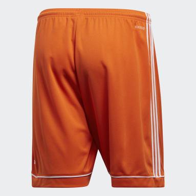 Pantalón corto Squadra 17 Naranja Hombre Gimnasio Y Entrenamiento
