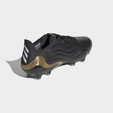Calzado de fútbol Copa Sense.1 Terreno Firme Negro Hombre Fútbol