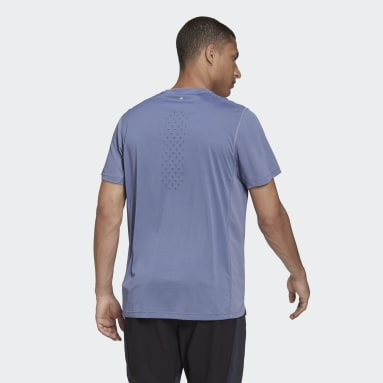 Men's Running Purple adidas HEAT.RDY Running Tee