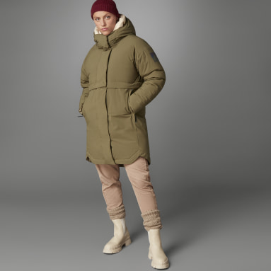 Women City Outdoor Green MYSHELTER COLD.RDY Parka
