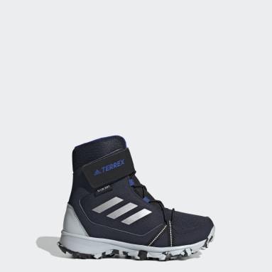 Barn TERREX Blå Terrex Snow CF Winter Hiking Shoes