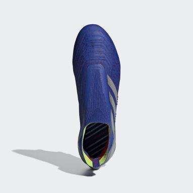 Calzado de Fútbol Predator 19+ Soft Ground Azul Hombre Fútbol