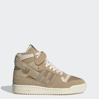 Dam Originals Beige Forum 84 Hi Shoes