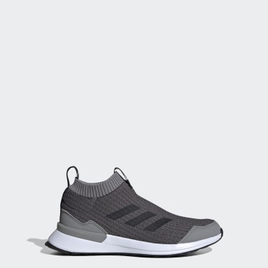 Youth Running Grey RapidaRun LL Shoes