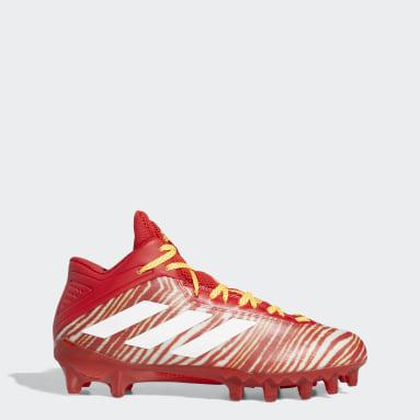 Men's Football Red Freak 21 Zubaz Football Cleats
